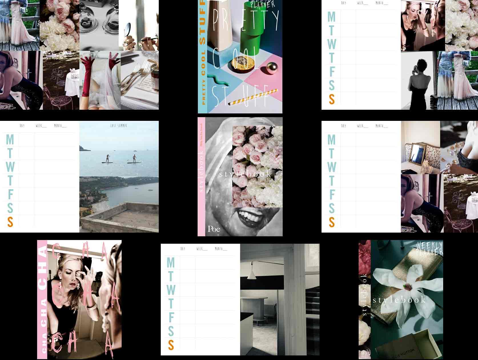 Tischkalender mit Fotos aus dem Eventbereich